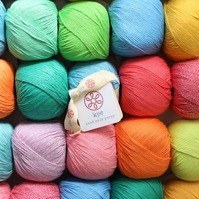 KPC Yarn - Gossyp DK/8ply - 100% organic cotton - Yummy Yarn and co - yarn shop and online Australia