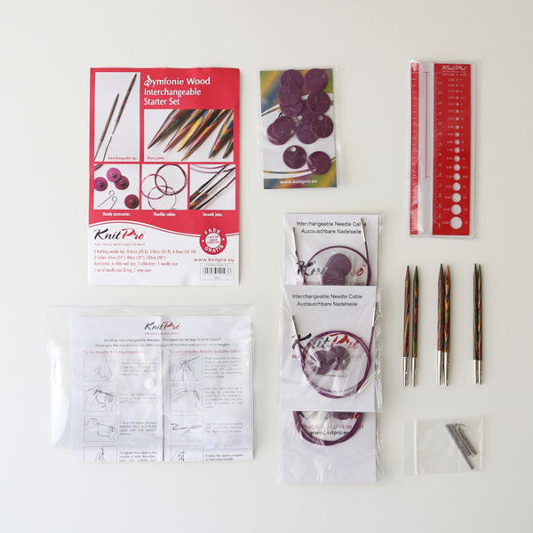 Knit Pro Symfonie Interchangeable Starter Kit