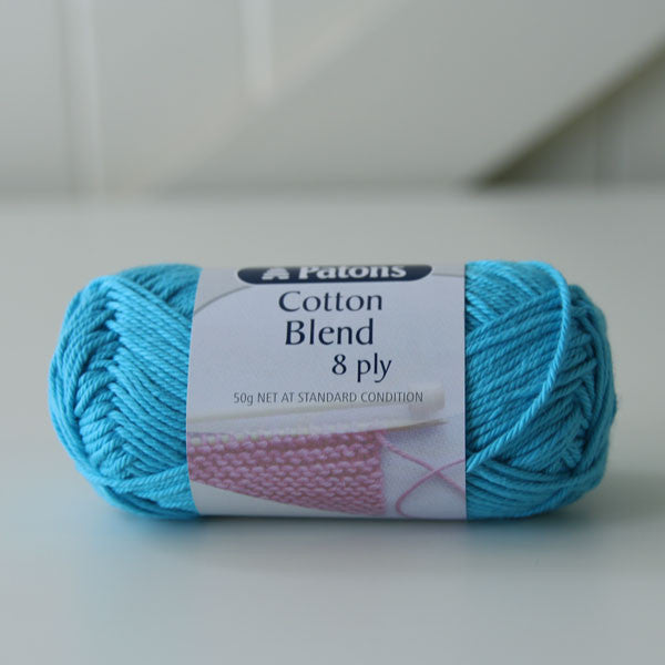 Patons Cotton Blend (8ply/DK) - Yummy Yarn and co - 4