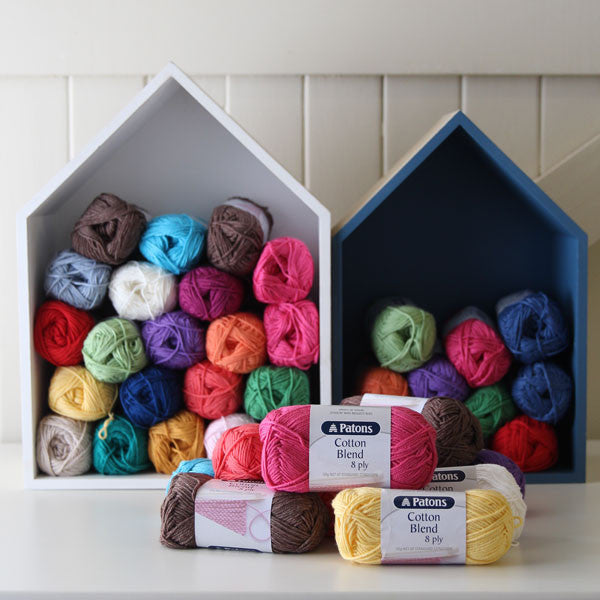 Patons Cotton Blend (8ply/DK) - Yummy Yarn and co Australian Stockist