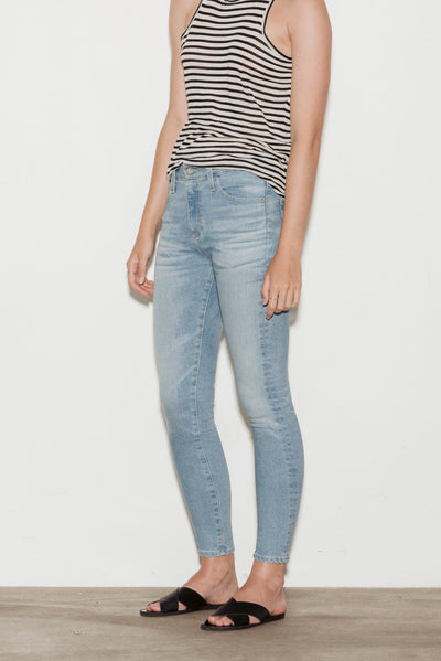 Farrah High Rise Skinny Crop Jeans - BASICS DEPARTMENT