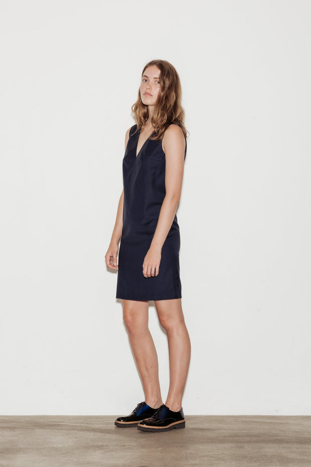 Crescendo Wool Dress - BASICS DEPARTMENT