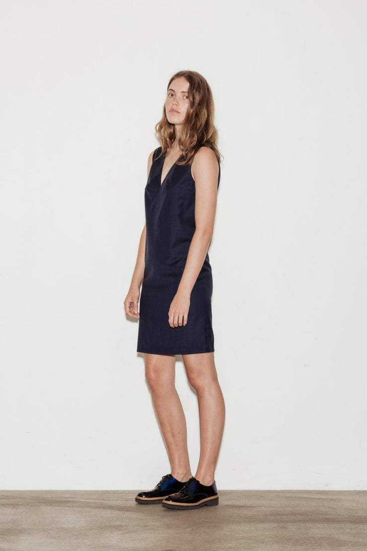 Crescendo Wool Dress