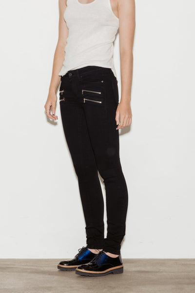 Edgemont Mid Rise Skinny Jeans - BASICS DEPARTMENT