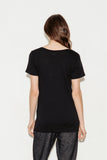 Kiara Supima Cotton V-Neck T-Shirt