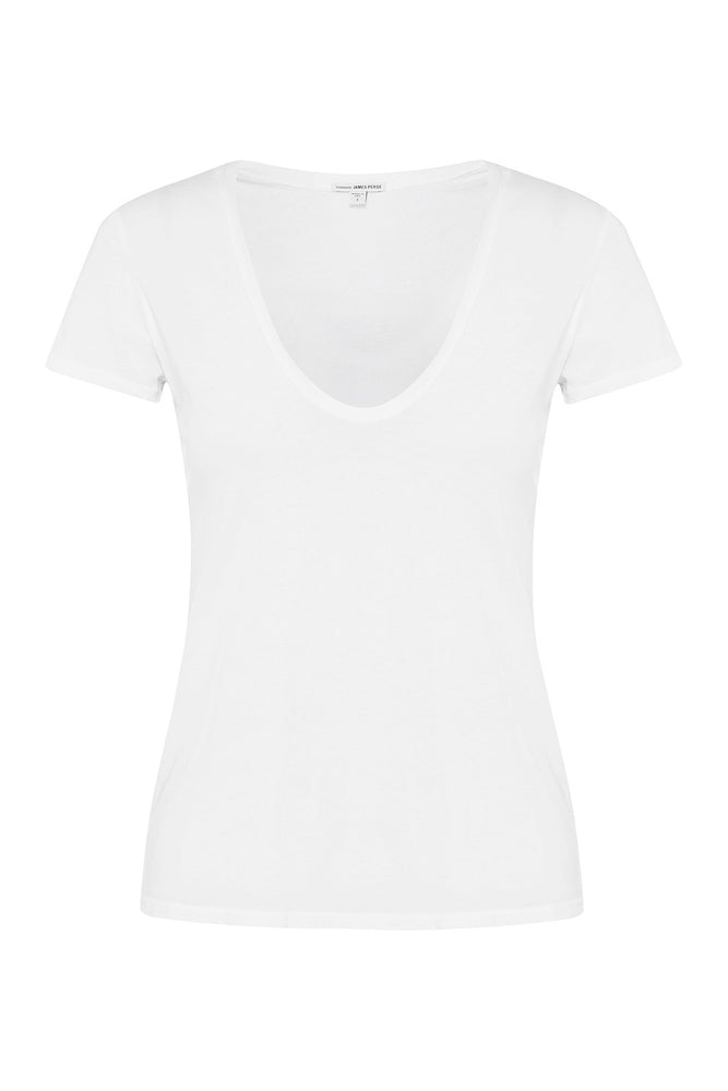 Relaxed Casual Cotton T-Shirt