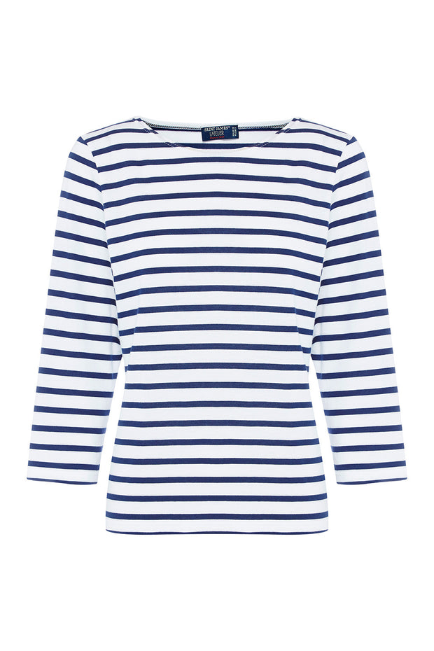 Galathee Breton Striped Cotton Jersey Top