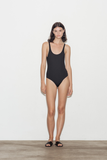 Noir Tank Swimsuit