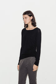 Monica Cotton Long Sleeve T-Shirt