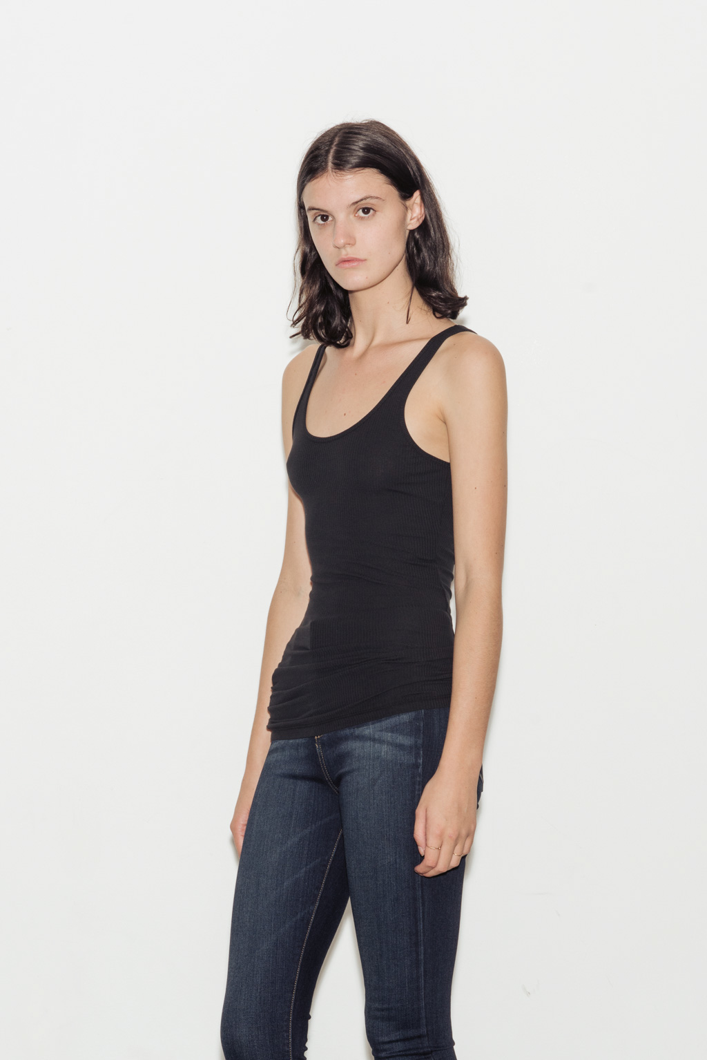 The Daily Ribbed Cotton Tank