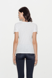 Casual Cotton V-Neck T-Shirt with Reverse Binding