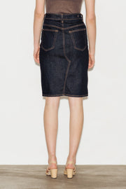 Emery High Waisted Denim Skirt