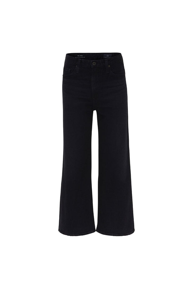 Etta High Rise Crop Wide Leg Jeans