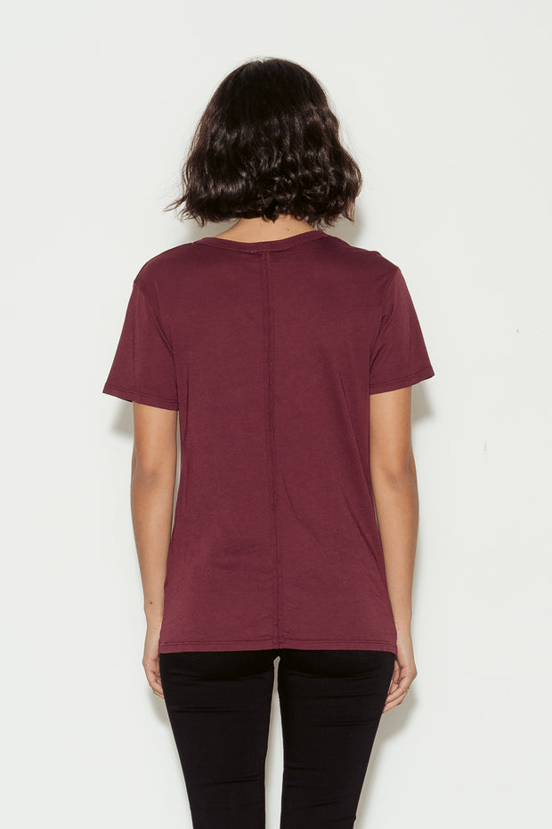 Henson Scoop Neck Cotton T-Shirt