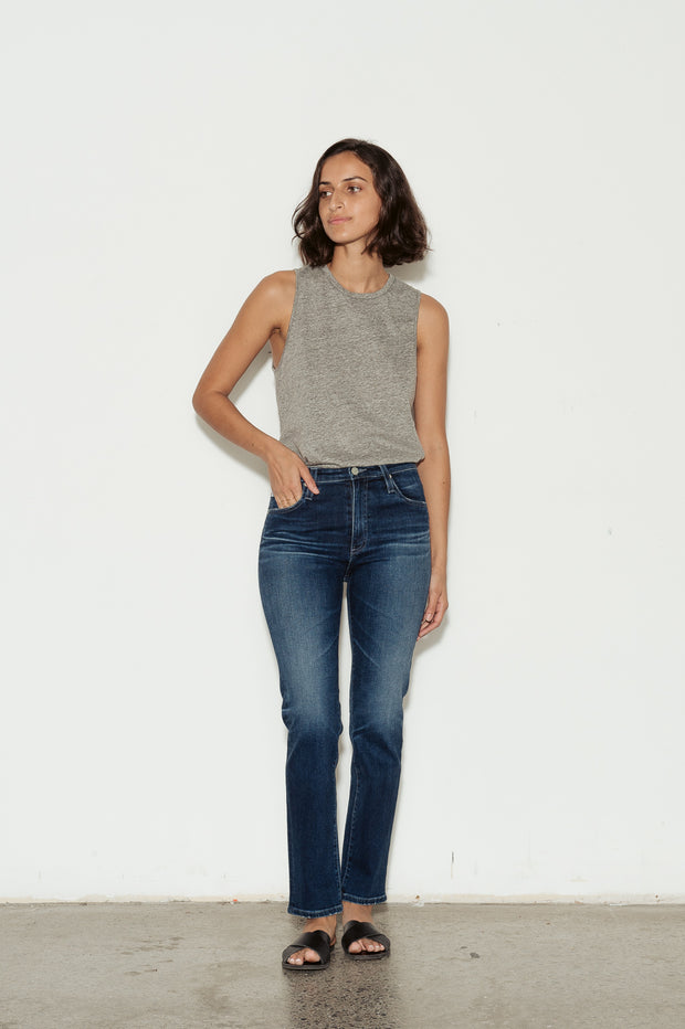 Isabelle High Rise Straight Leg Jeans