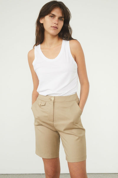 Cambria Cotton Jersey Tank - BASICS DEPARTMENT