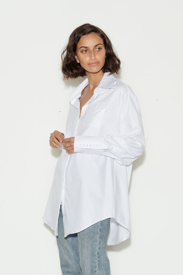 Edie Cotton Shirt - BASICS DEPARTMENT