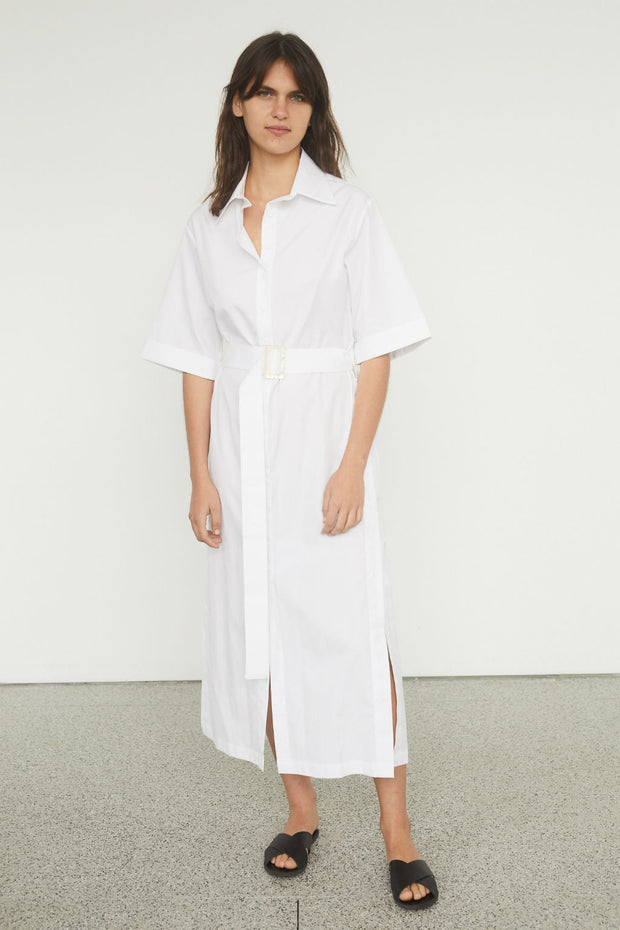 Zola Cotton Shirt Dress