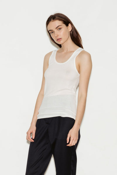 Cyrielle Pima Cotton Tank - BASICS DEPARTMENT