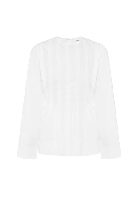 Manuela Cotton Tunic Open Back Shirt