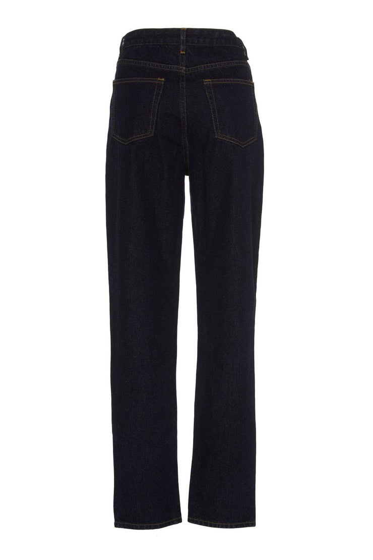 High Rise Straight Leg Jeans - BASICS DEPARTMENT