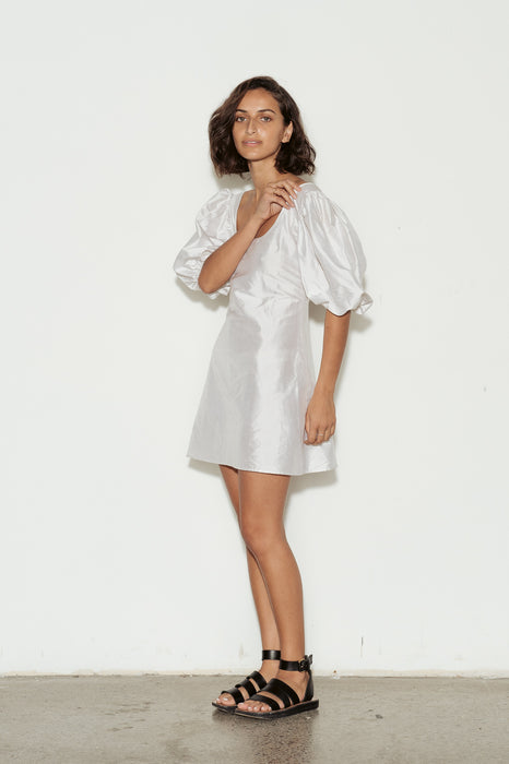 Prince Silk Mini Dress