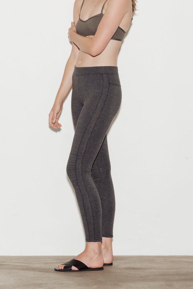 City Cotton Blend Leggings - BASICS DEPARTMENT