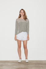 Skylar Cotton Long Sleeve T-Shirt