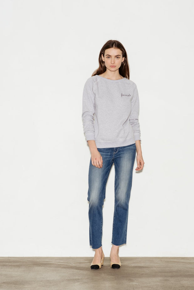 Féministe Cotton Sweatshirt