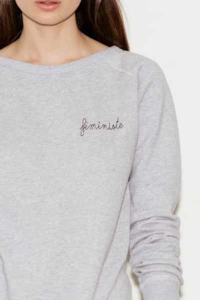 Féministe Cotton Sweatshirt - BASICS DEPARTMENT