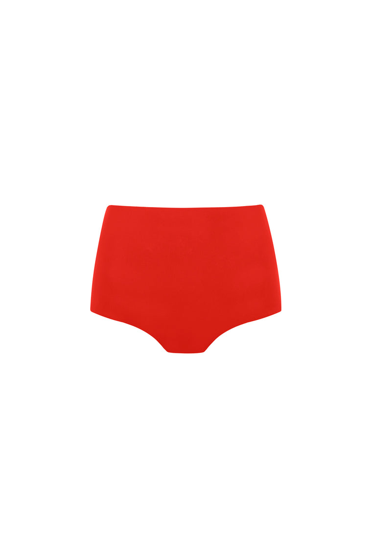 High Waist Bikini Briefs