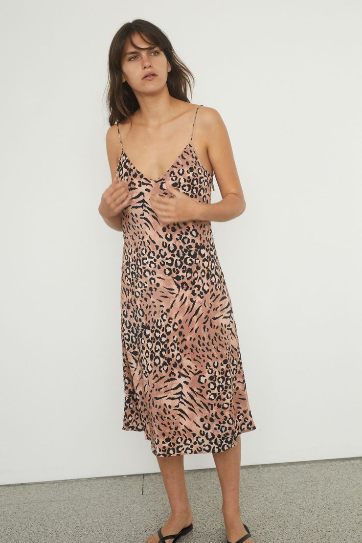 Cicely Silk Slip Dress