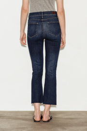 Colette High Rise Crop Flare Jeans