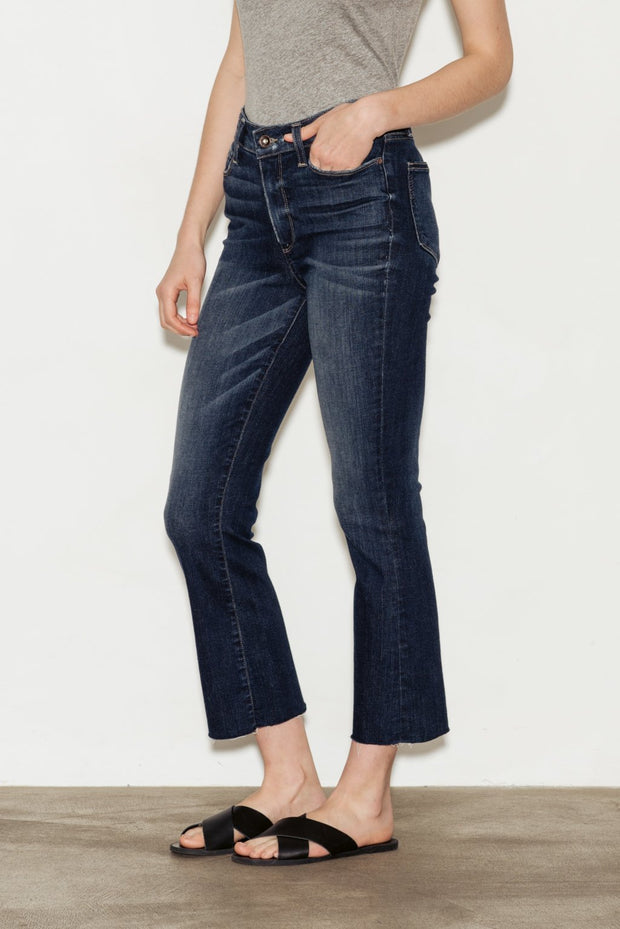Colette High Rise Crop Flare Jeans - BASICS DEPARTMENT