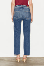 Hoxton High Rise Straight Ankle Jeans