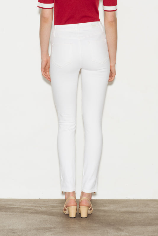 Hoxton High Rise Ankle Zip Skinny Jeans