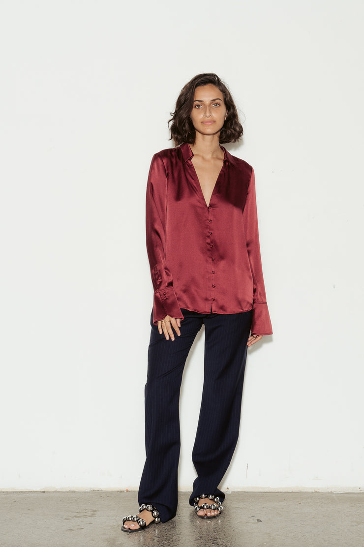 Toscani Silk Blouse