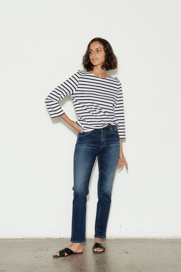 Galathee Breton Striped Cotton Jersey Top - BASICS DEPARTMENT