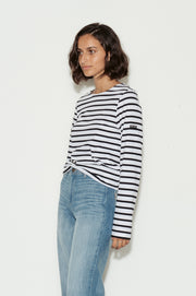 Minquiers Modern Breton Striped Top