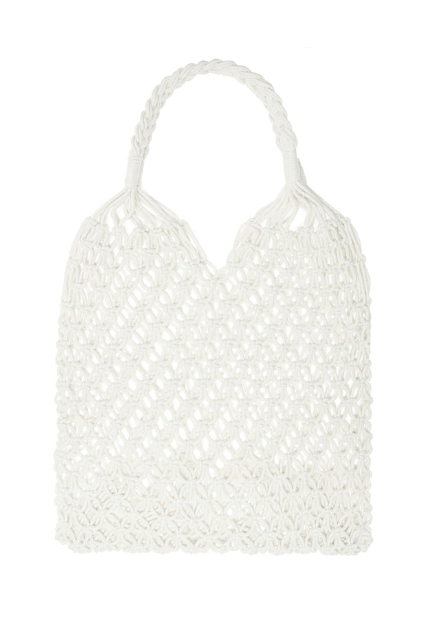Summer Cotton Macramé Tote