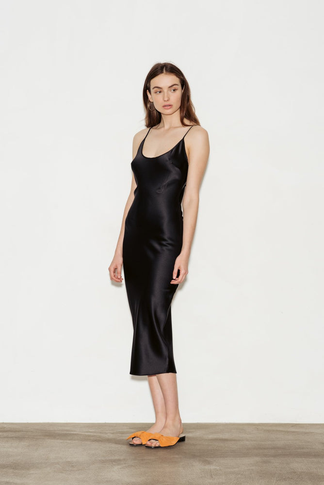 Calla Silk Slip Dress