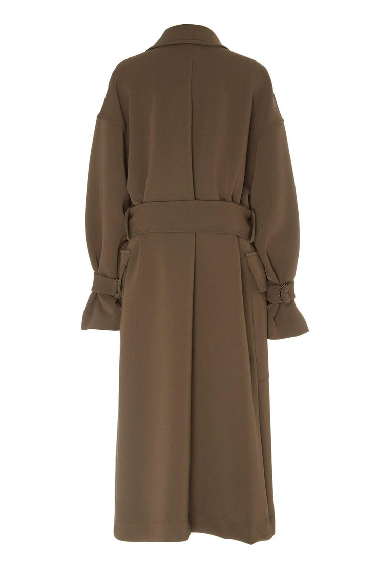 D Ring Trench Coat