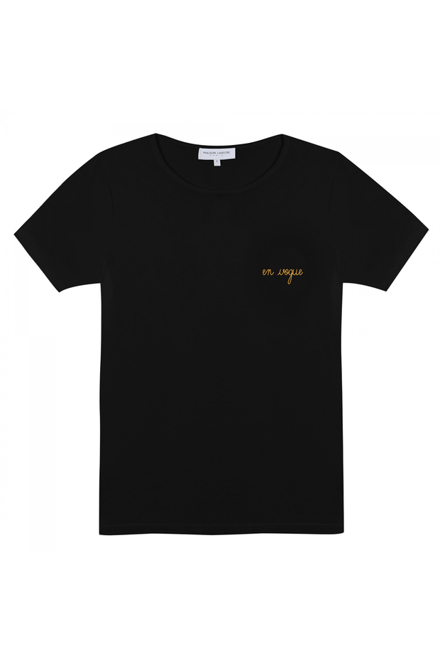 En Vogue Crew Neck Cotton T-Shirt