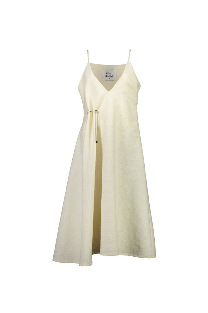V-Neck Toggle Dress