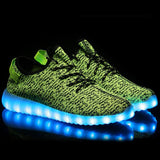 Adults Unisex LED Rechargable Glow Shoe