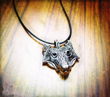 Premium Wolf Head Necklace