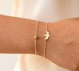 Mini Baby Peace Dove Bracelet