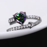 Romantic Cupid Arrow Cubic Zirconia Ring