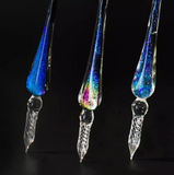 Unicorn Spiral Glass Pen