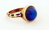 Bronze Plated Changing Color Mood Ring